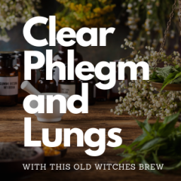 Clear Phlegm & Lungs – Old Witches Brew